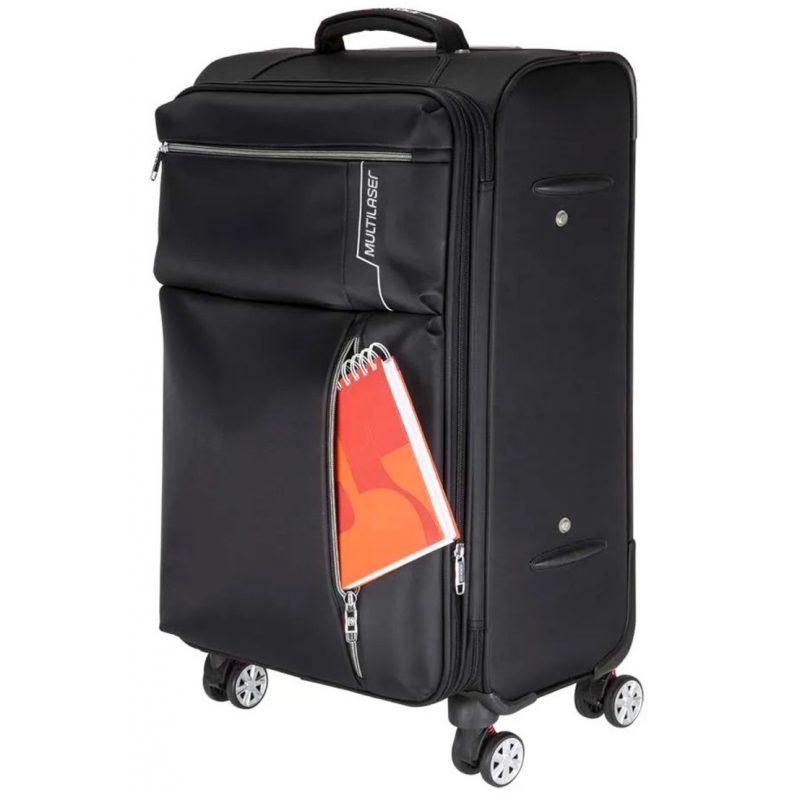 Maletas Valijas para Viaje Multilaser BO421 Kits 2 Unidades Grande / Mediana Calidad Premium 4 Ruedas 3