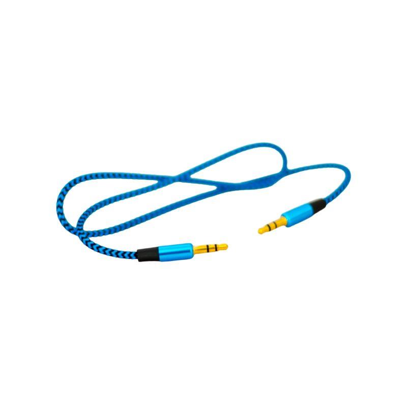 Cable de Audio Auxiliar ROCA 3.5mm a 3.5mm (1 Metro) 1