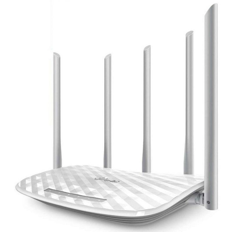 Router TP-Link Wireless ARCHER C60 Doble Banda WiFi 5 Antenas 3