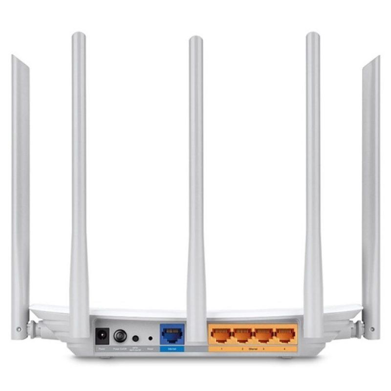 Router TP-Link Wireless ARCHER C60 Doble Banda WiFi 5 Antenas 4