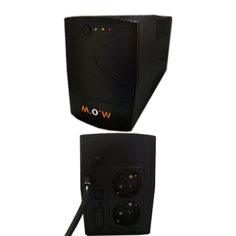UPS MOW 650VA EA20065 650VA 220V/50HZ 390W Indicador LED 3