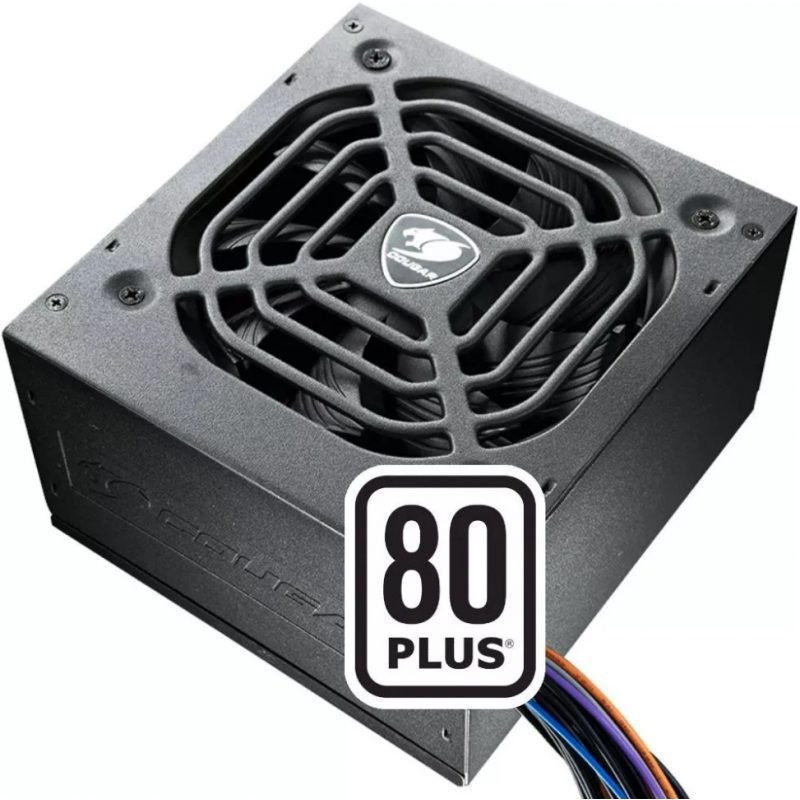 Fuente Cougar XTC500 Gamer 500W Reales 80 Plus White Fan 120mm 2