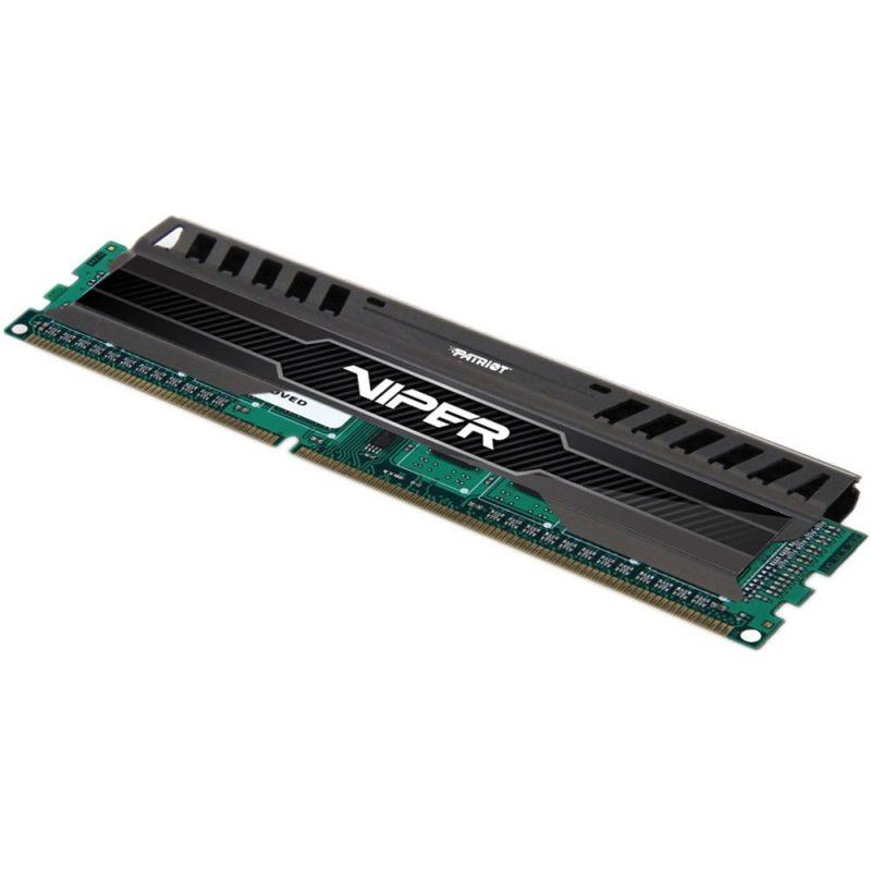 Memoria RAM DDR3 8GB 1600 MHz Patriot Viper 3 Black Gamer Nueva Garantía de por Vida 2