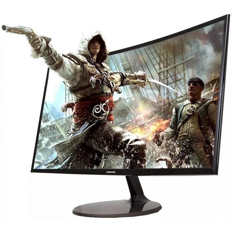 Monitor Curvo LED Samsung 27'' CF390 Series C27F390FHL Full HD 1
