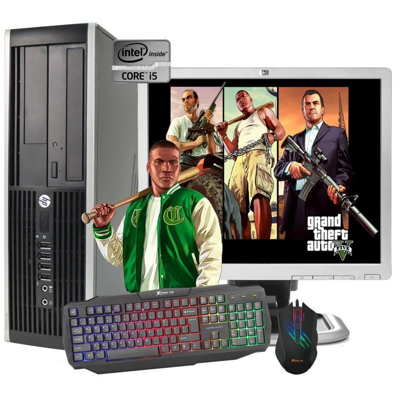 PC Computadora Completa Gamer Core i5 8gb 250GB Tarjeta de Video Nvidia GeForce GT710 2GB + Combo Gaming + Monitor 19'' - Reacondicionado 1