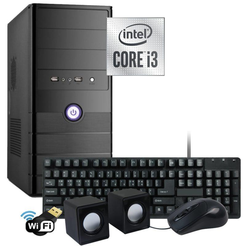 Pc Computadora Nueva INTEL Core i3 4GB 500GB WiFi 1