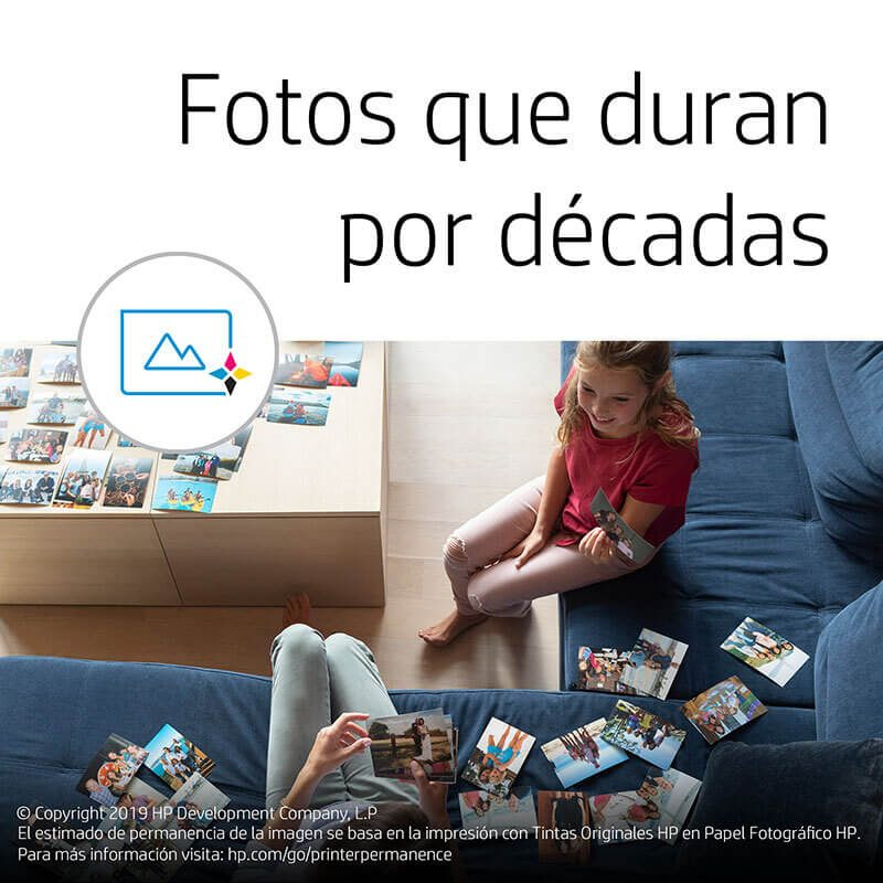 Cartucho Original HP 667 3YM79AL Negro Para Deskjet 2375 2775 2776 4