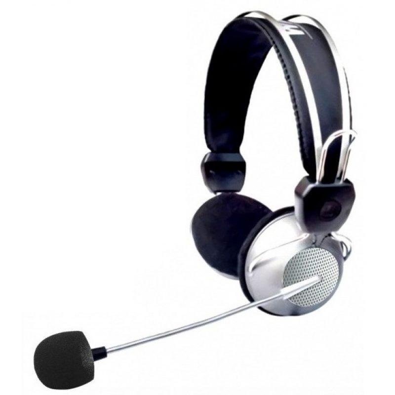 Auricular Xtreme HT-310 Deluxe Metal con Microfono Cable Largo y Forrado 1