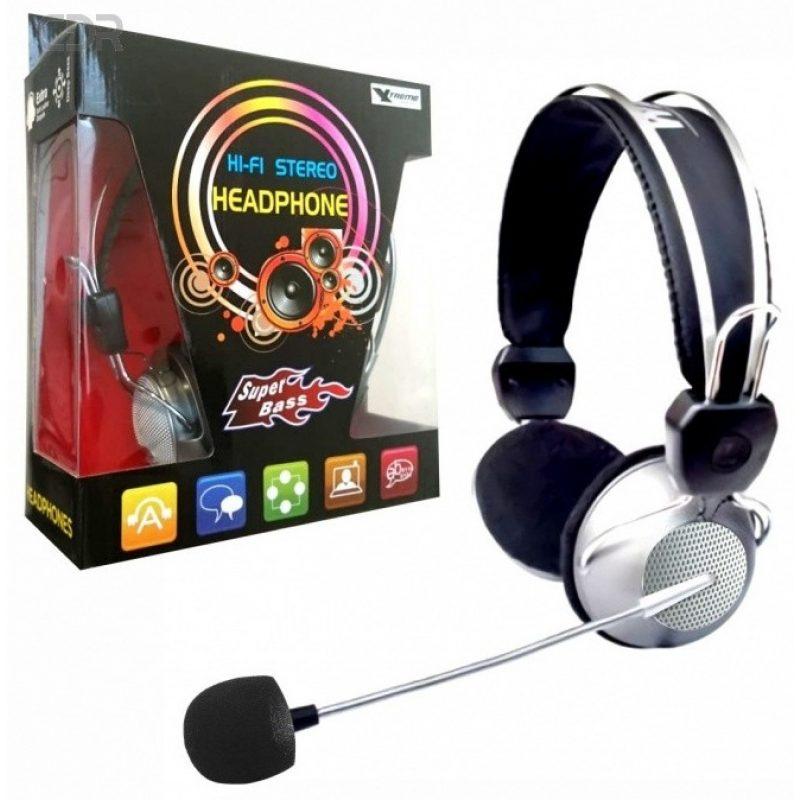 Auricular Xtreme HT-310 Deluxe Metal con Microfono Cable Largo y Forrado 2