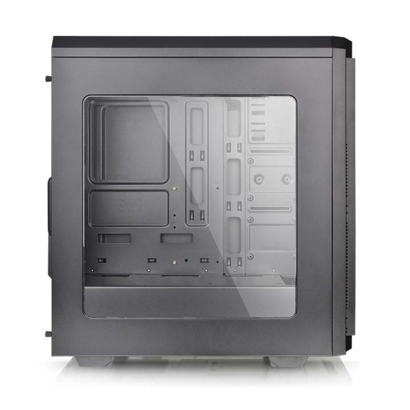 Gabinete Gamer Thermaltake V100 Lateral Transparente Fan 12x12 3