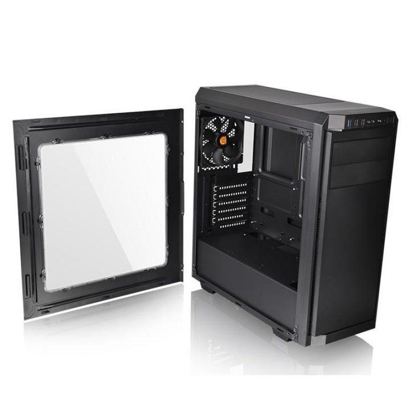 Gabinete Gamer Thermaltake V100 Lateral Transparente Fan 12x12 4