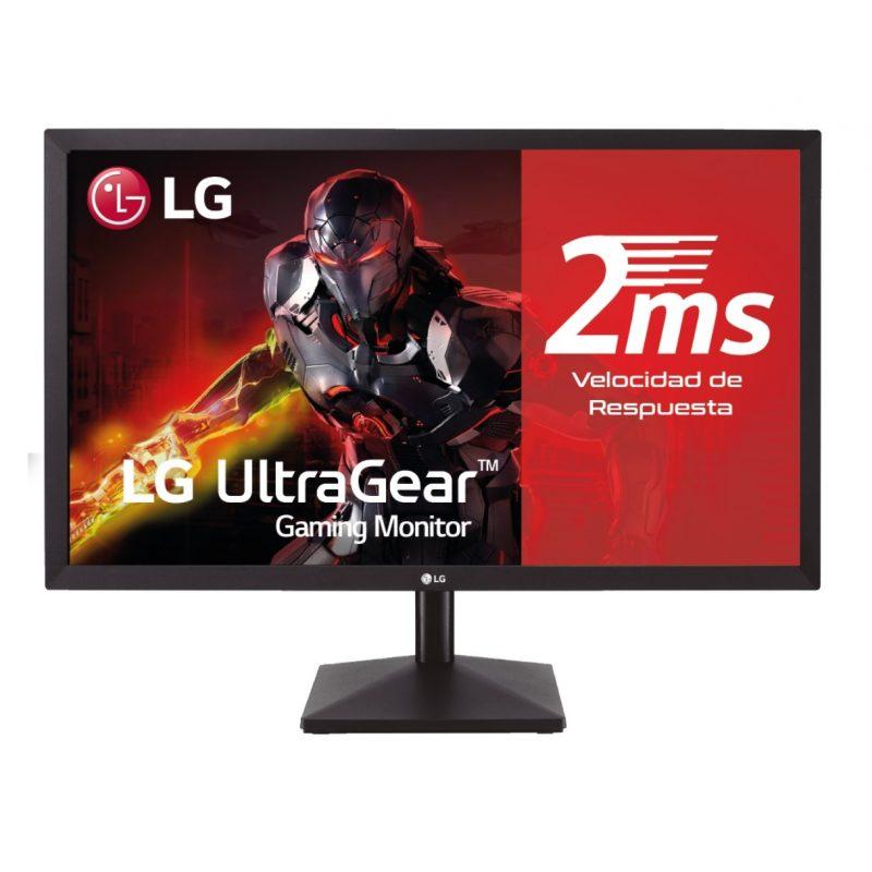Monitor LED LG 27MK400H-B 27'' Full HD FreeSync Gamer Ultra Gear HDMI/VGA 1