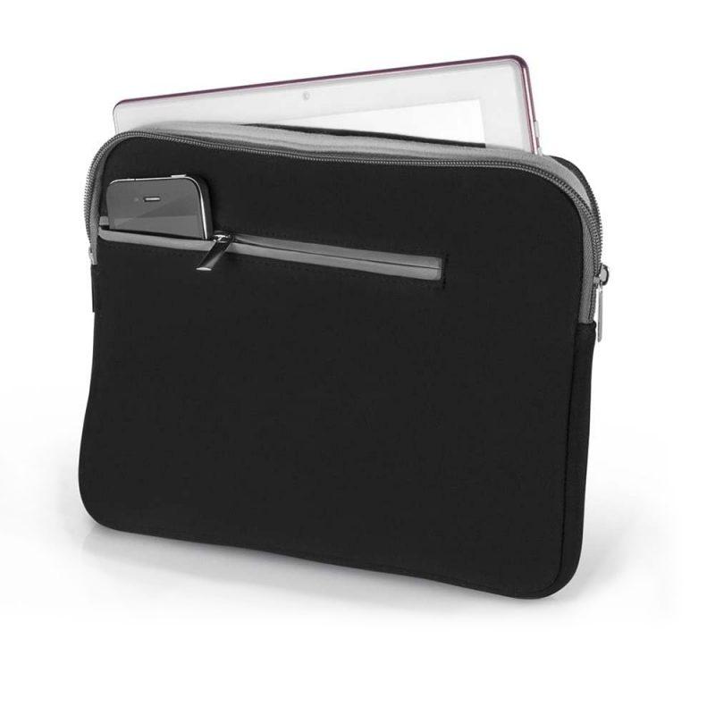 Sobre Funda Neopreno Multilaser BO207 Para Notebook de hasta 14'' - Negro 1