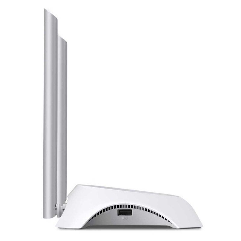 Router TP-Link TL-MR3420 300Mbps WiFi con USB para Modem 3G/4G 2 Antenas 4