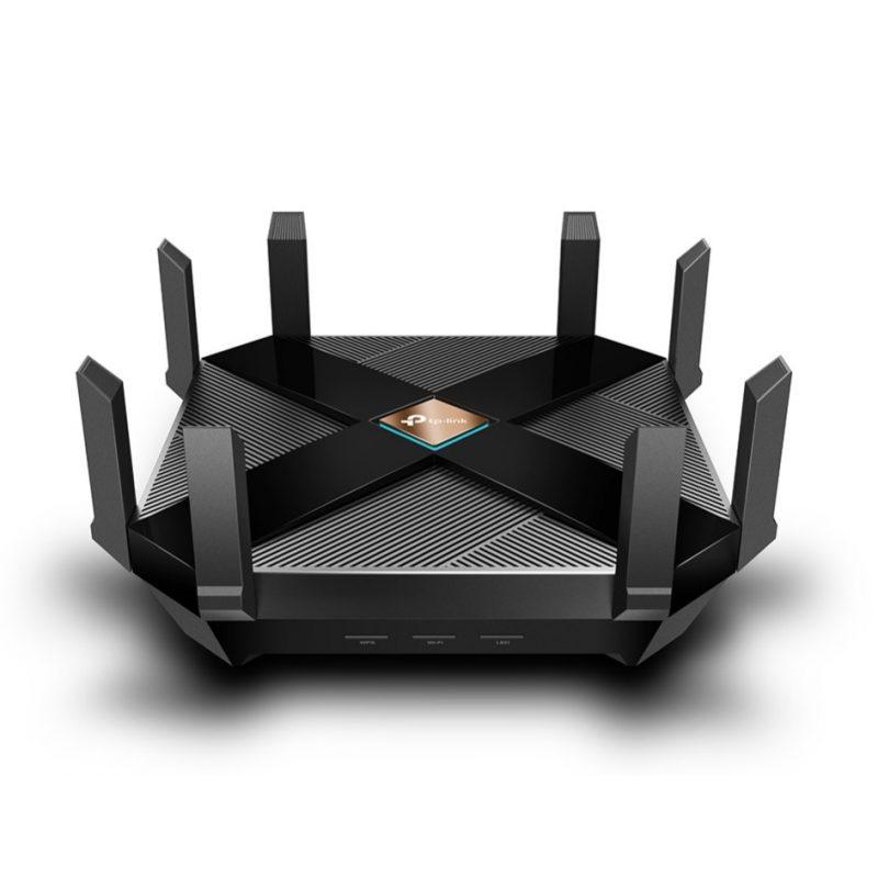 Router TP-Link Archer AX6000 MU-MIMO OFDMA WiFi 6 Procesador Quad-Core Doble Banda 8 Antenas 1