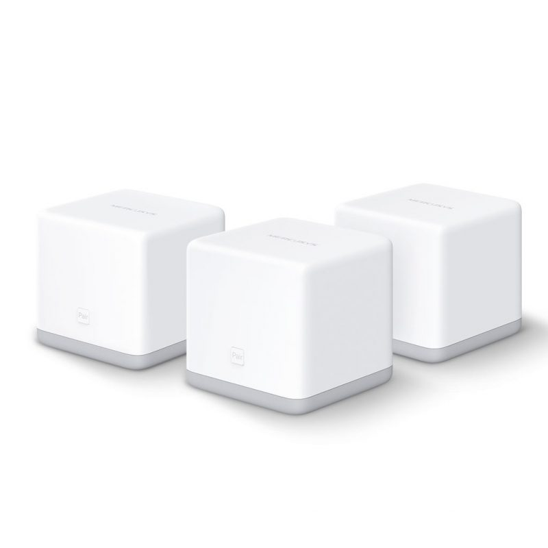 Router / Access Point Mercusys Halo S3 Tecnología Mesh 300 Mbps (Kit 3 Unidades) 1