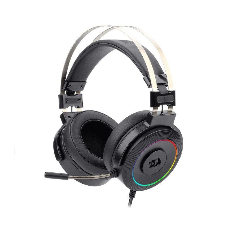 Auricular USB Redragon Lamia2 RGB Con Soporte de Regalo Software Descargable - Negro 2