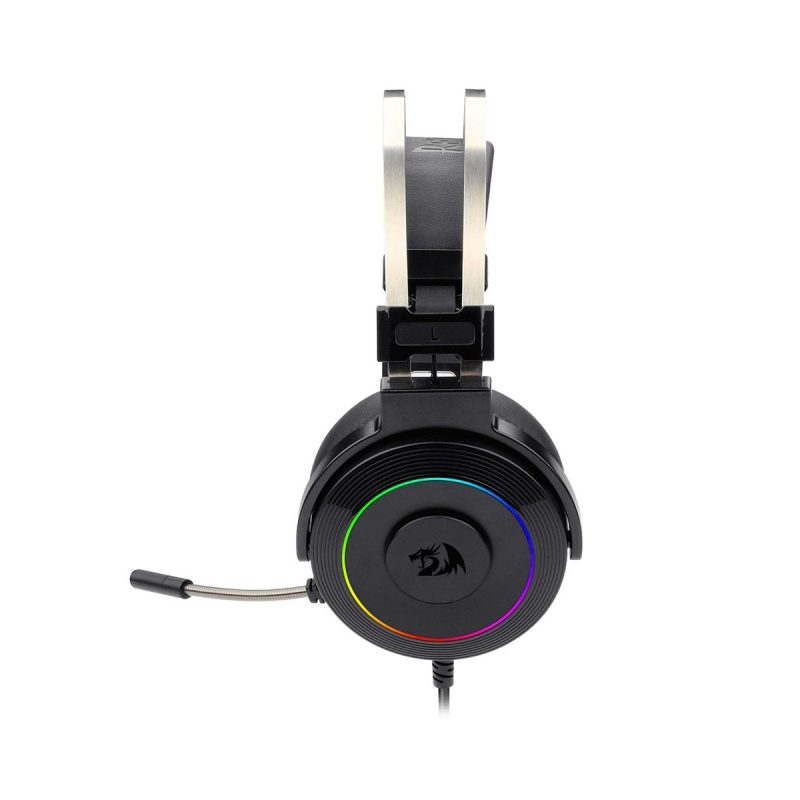Auricular USB Redragon Lamia2 RGB Con Soporte de Regalo Software Descargable - Negro 4