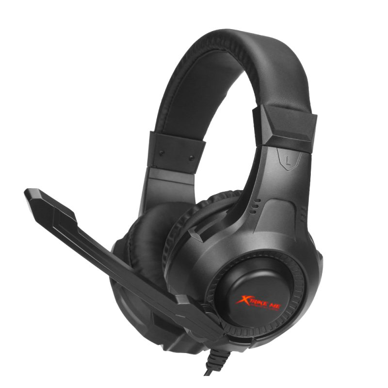 Auricular Headset Gamer Xtrike Me HP-311 con Microfono Luz y Control en cable 1
