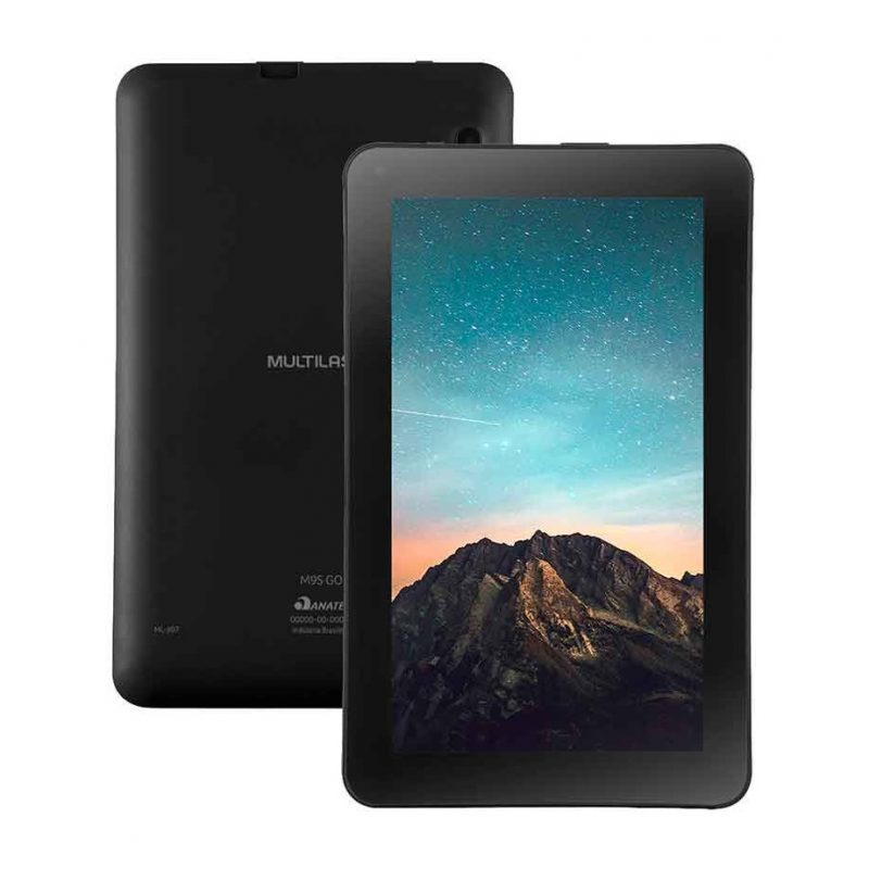 Tablet Multilaser NB326 M9S GO Quad Core 9'' 16GB WiFi Doble Camara Android - Negro 3