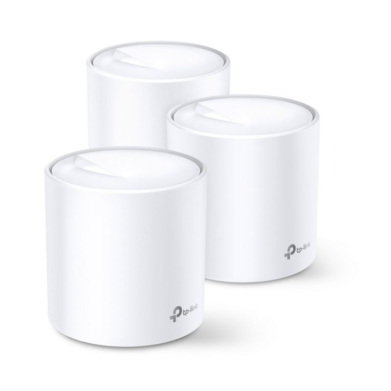 Router / Access Point / Repetidor WiFi TP-Link Deco X20 AC1800 Dual Band Tecnología MESH y WiFi 6 (Pack de 3 Unidades) 1