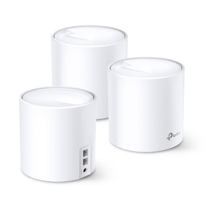 Router / Access Point / Repetidor WiFi TP-Link Deco X20 AC1800 Dual Band Tecnología MESH y WiFi 6 (Pack de 3 Unidades) 2