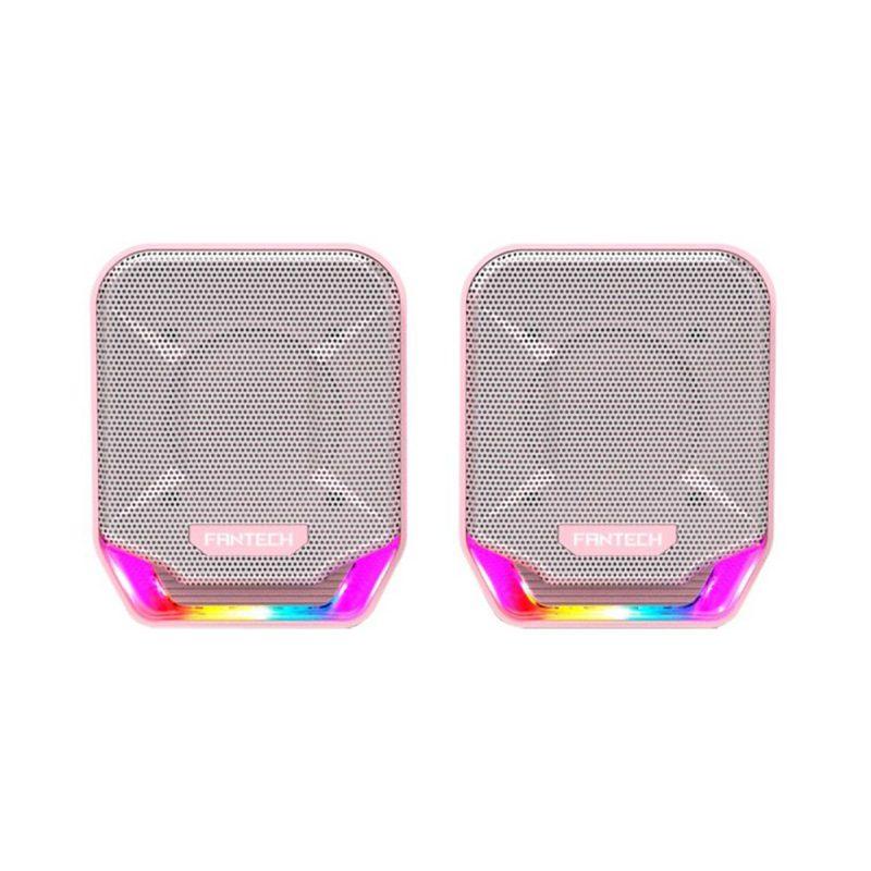 Parlante Gamer Fantech Sakura GS202 2.0 Chroma RGB USB/mini jack 3.5mm Rosado 2