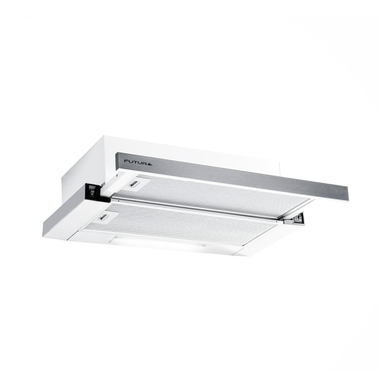 Campana Telescópica Futura FUT-C420TL Acero Inox 60cm Con Luz Y Filtro 1