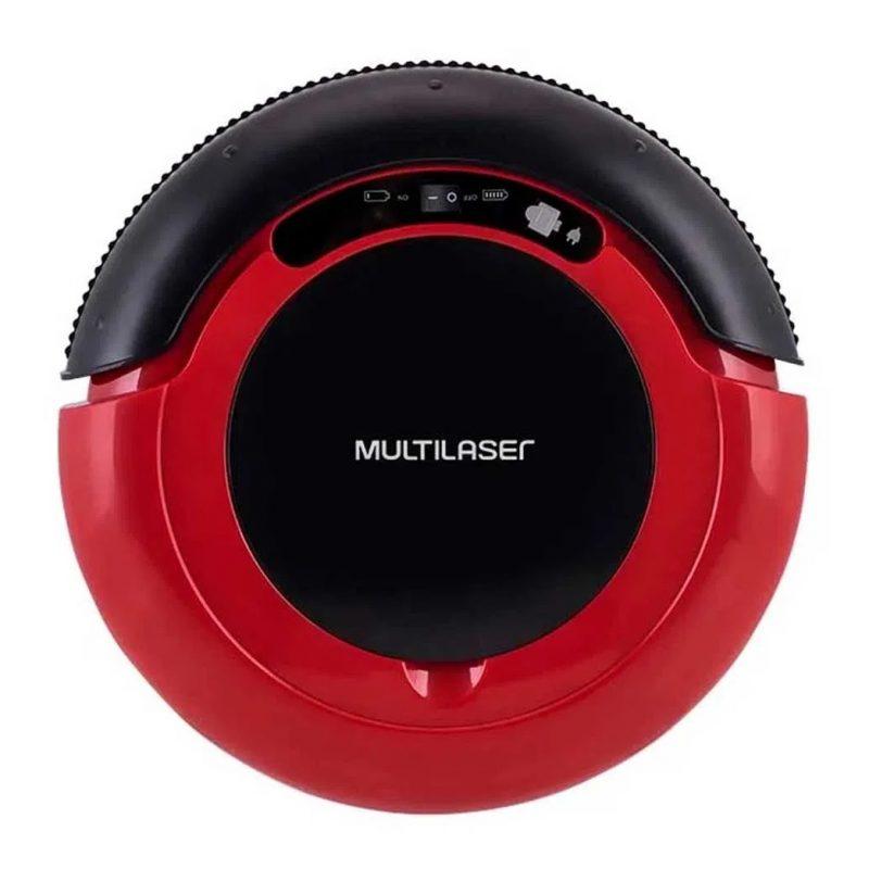 Aspiradora Robot Multilaser HO041 3 en 1 Inteligente Bateria Recargable Roja 2