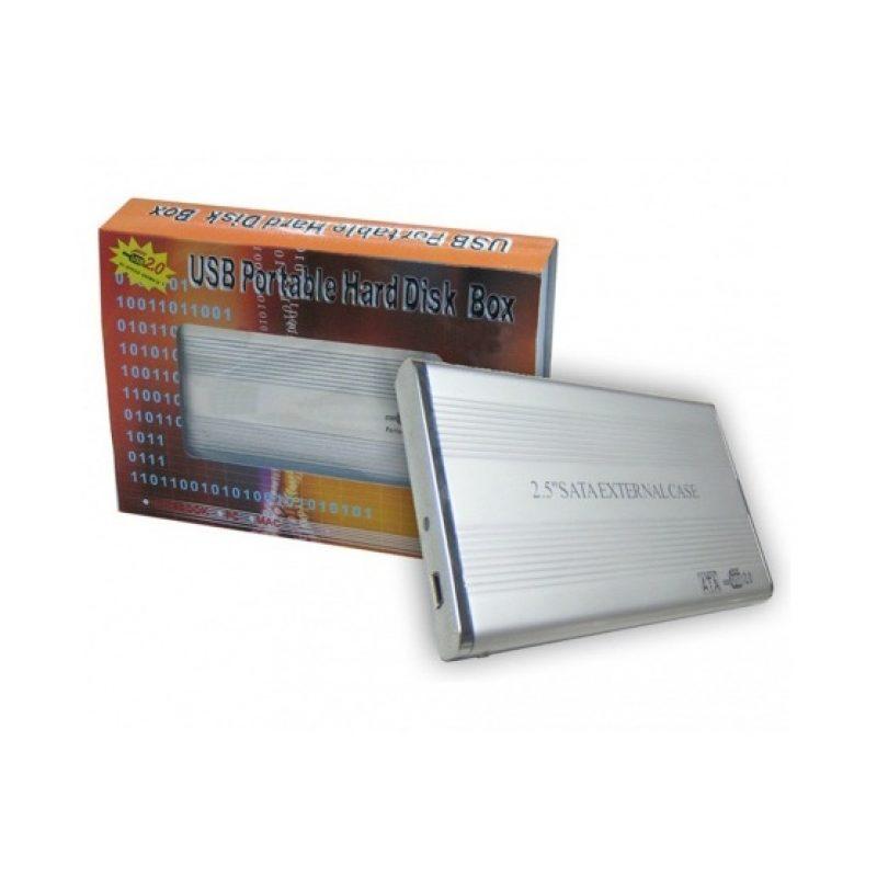 Gabinete Carcasa Xtreme 25EA de Aluminio para Disco Duro 2.5'' USB 2.0 a Sata 3