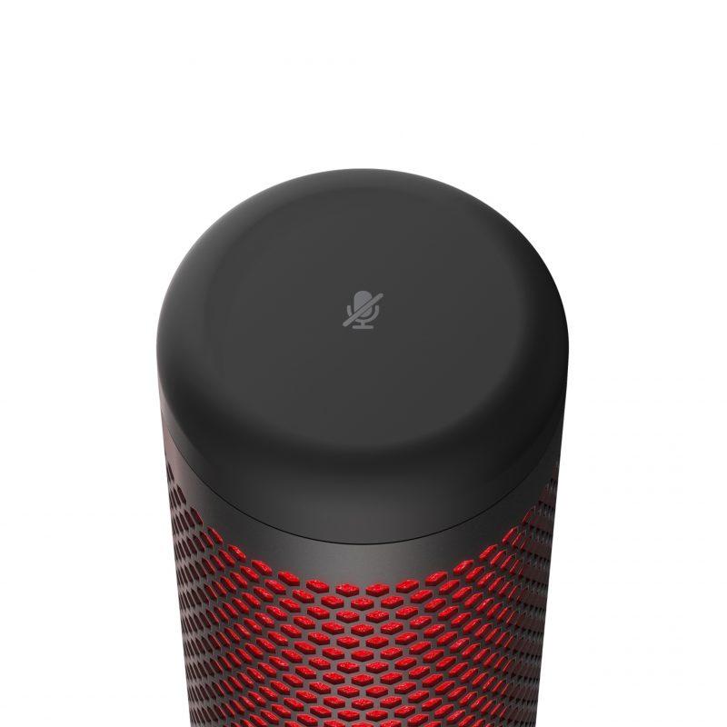Micrófono HyperX QuadCast Estéreo Omnidireccional Gamer Streamer Compatible PC; PS4 y Mac 4
