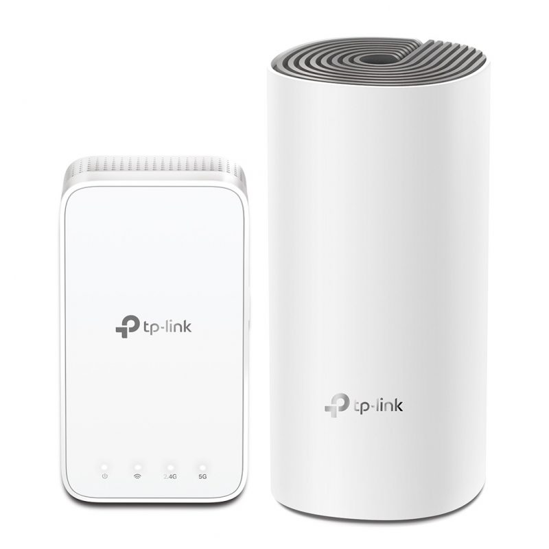 Router / Access Point TP-Link Deco E3 AC1200 Dual Band Tecnología Mesh (Kit 2 Unidades) 1