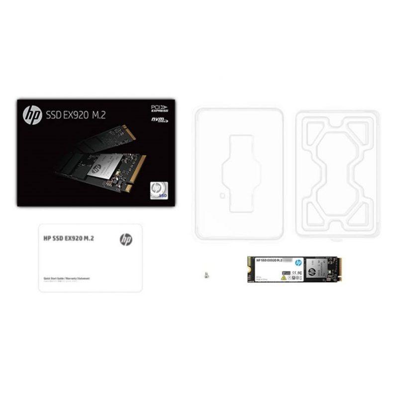 Disco Solido SSD M2 HP EX920 PCIe 3.1 256 GB 2YY45AA#ABL Interno 4