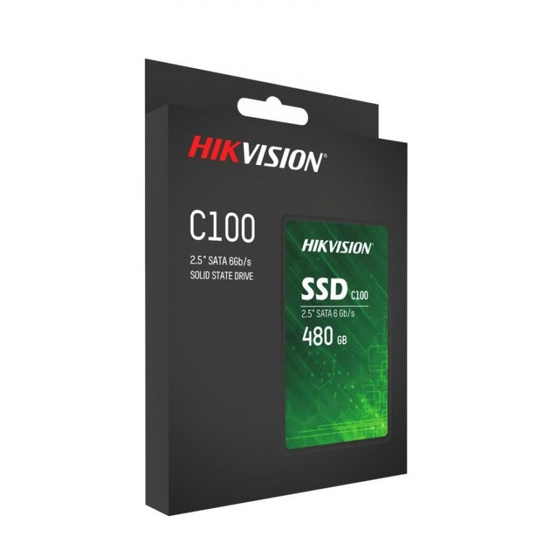 Disco Solido SSD Hikvision HS-SSD-C100/480G 480GB SATA3 2.5' 2