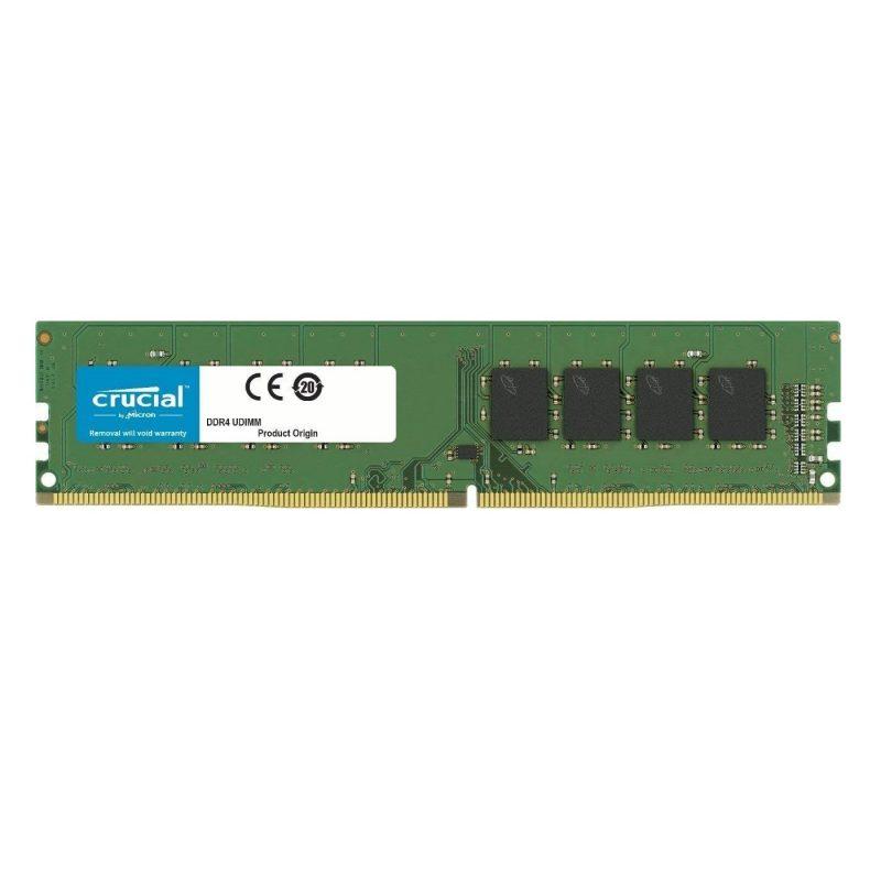 Memoria RAM DDR4 8GB Crucial 2666Mhz Udimm PC4-21300 1