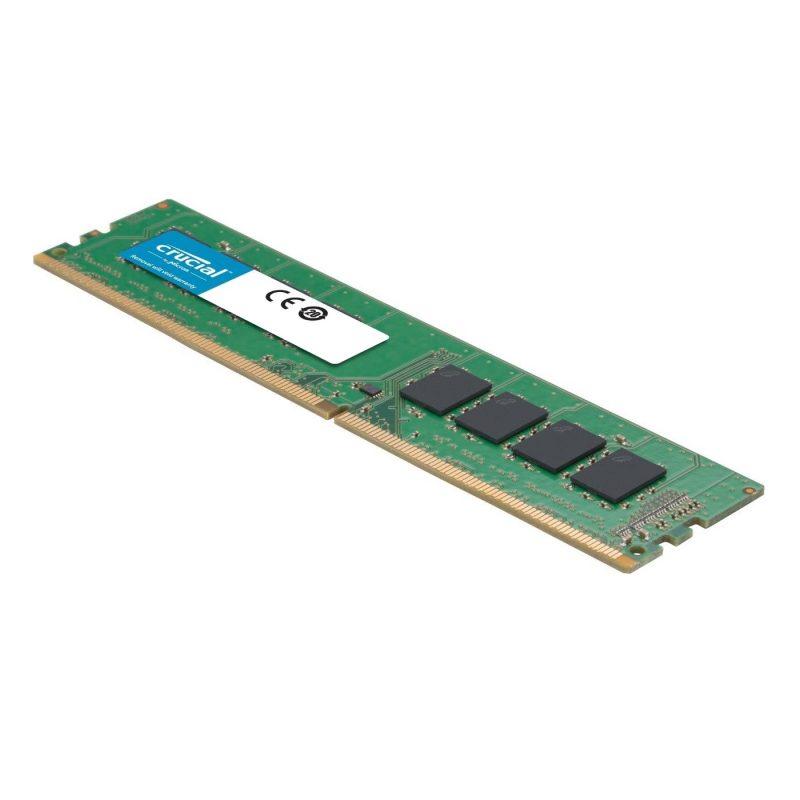 Memoria RAM DDR4 8GB Crucial 2666Mhz Udimm PC4-21300 3