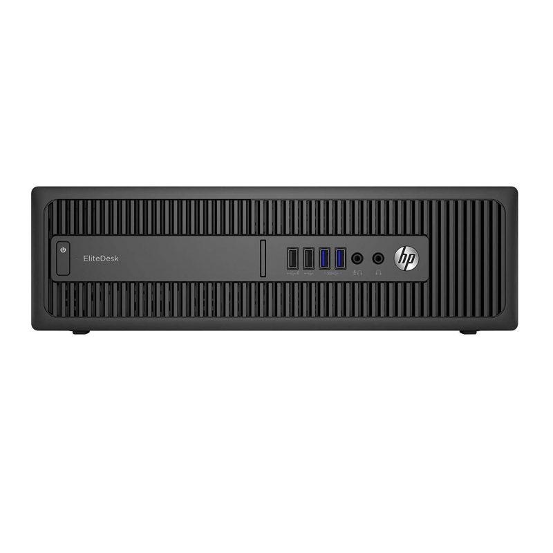 PC Computadora HP 800 G1 Intel Core i7-4570s 8GB de RAM 256GB SSD Windows 10 Pro + Monitor LCD 24'' 4