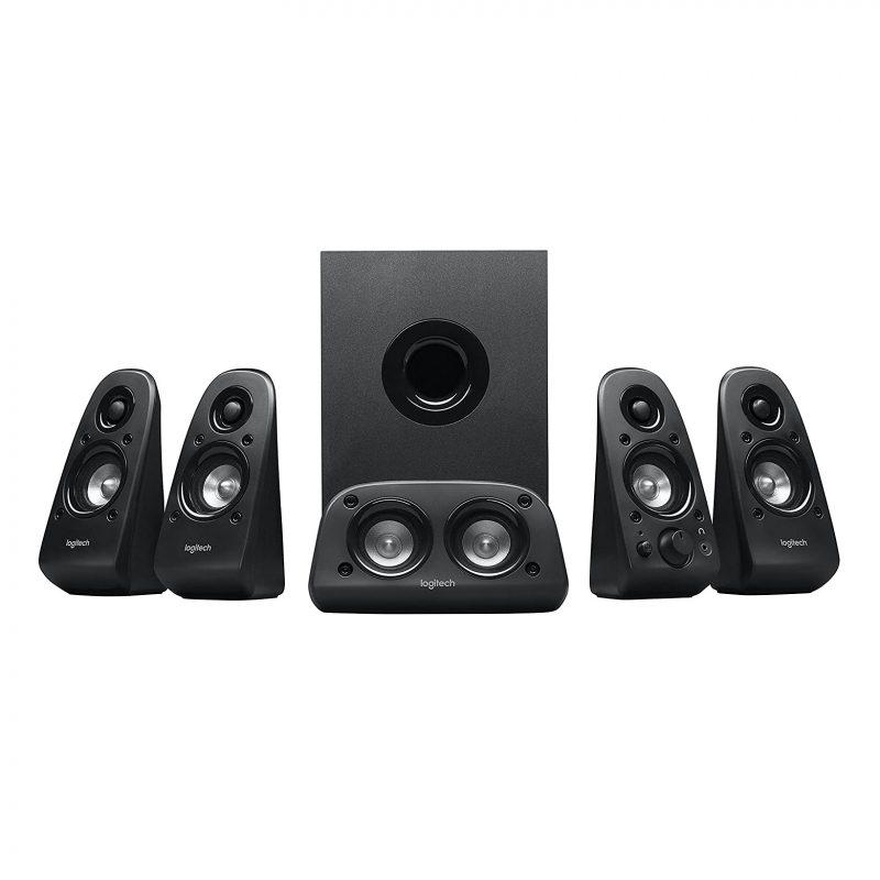 Parlantes Home 5.1 Logitech Surround Z506 Sonido Envolvente 75w RMS Alta Potencia 1