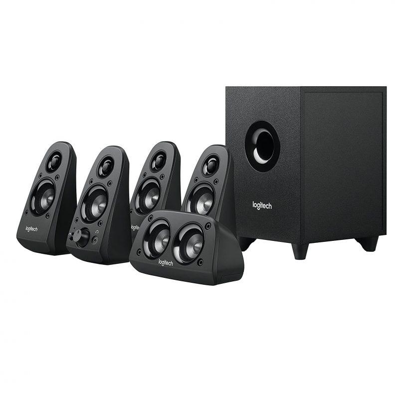 Parlantes Home 5.1 Logitech Surround Z506 Sonido Envolvente 75w RMS Alta Potencia 2