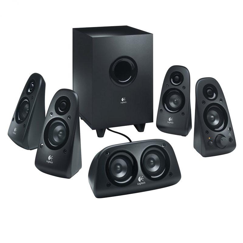 Parlantes Home 5.1 Logitech Surround Z506 Sonido Envolvente 75w RMS Alta Potencia 3