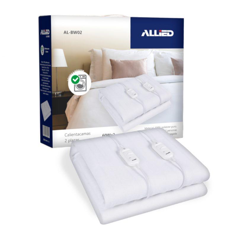 Calienta Cama Allied AL-BW02 2 Plazas; 3 Temperaturas; 100% Poliester 1