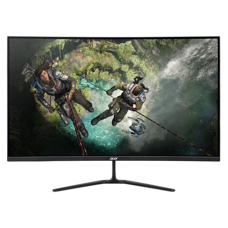 Monitor Gamer Curvo LED Acer ED320QR Sbiipx 31.5'' 1800R Full HD 165hz FreeSync 1