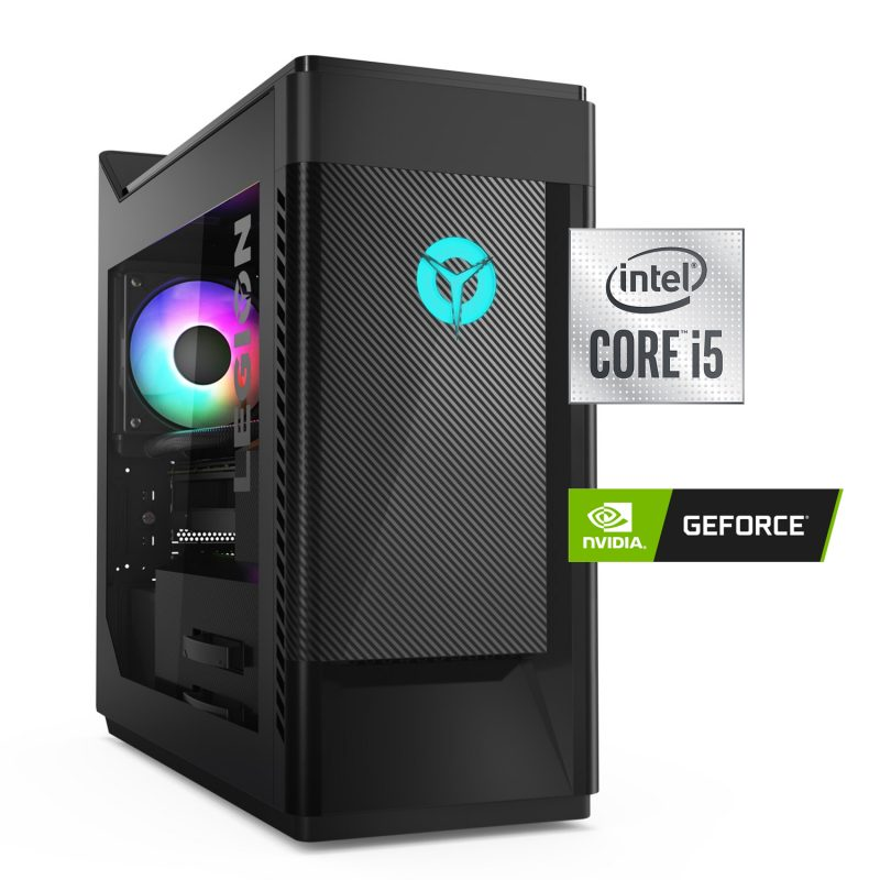 PC Computadora Gamer Pro Lenovo Legion T5 Intel Core i5-10400F 1TB+256GB SSD 16GB Tarjeta de Video GTX1650 4GB 1