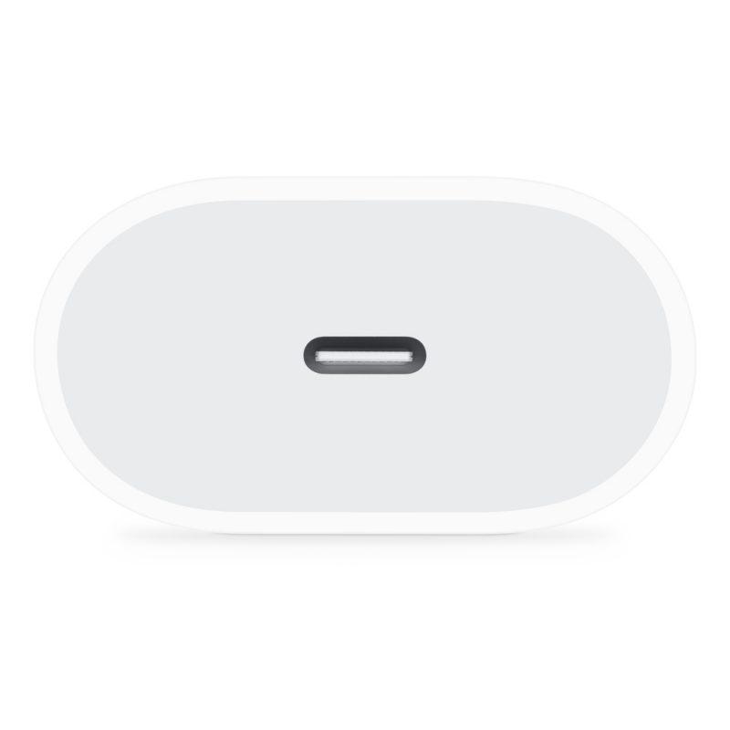 Adaptador Cargador de Pared USB-C Apple MHJE3ZM/A 20w Original 3