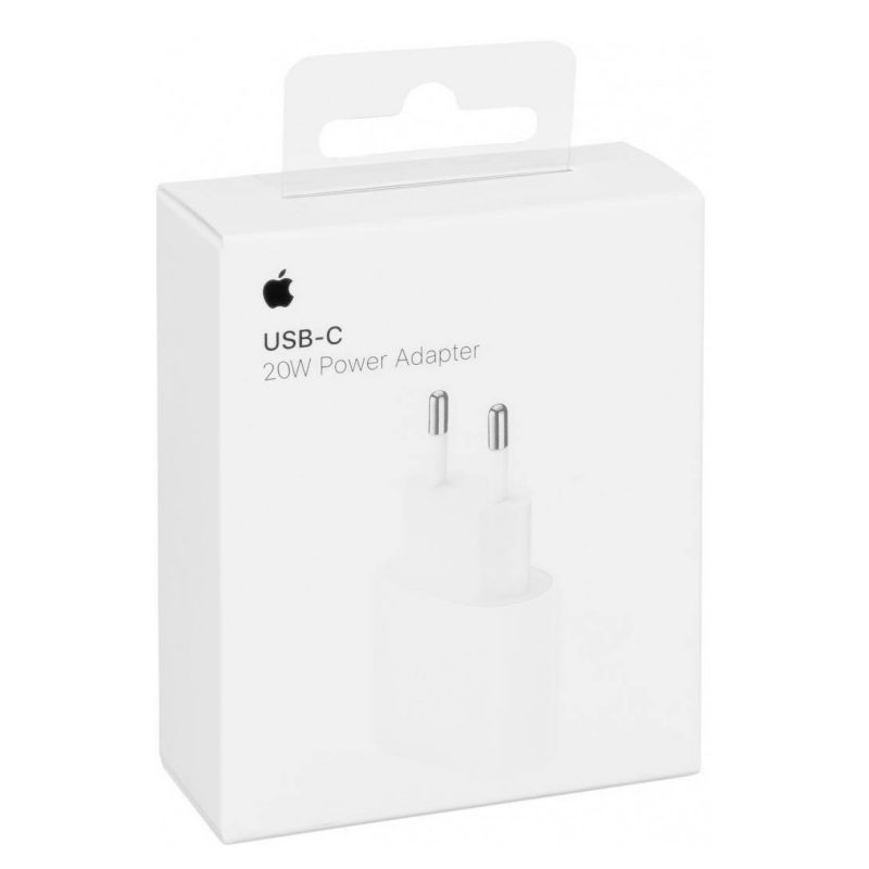 Adaptador Cargador de Pared USB-C Apple MHJE3ZM/A 20w Original 4