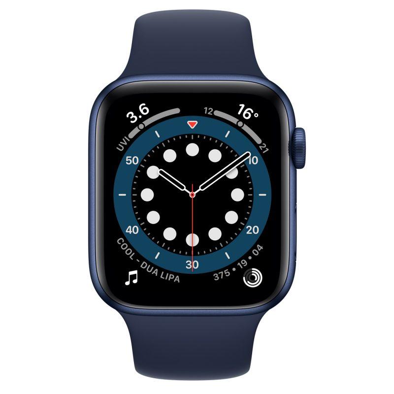 Reloj Apple Smart Watch Serie 6 M00J3BE/A Bluetooth WiFi 1;8'' - Blue 2