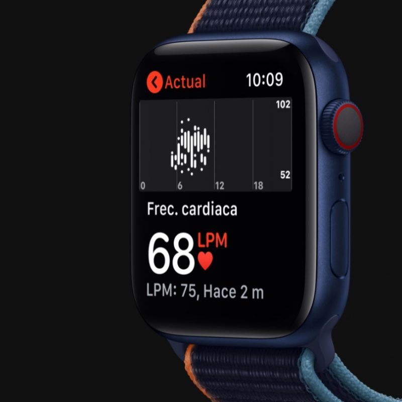 Reloj Apple Smart Watch Serie 6 M00J3BE/A Bluetooth WiFi 1;8'' - Blue 4