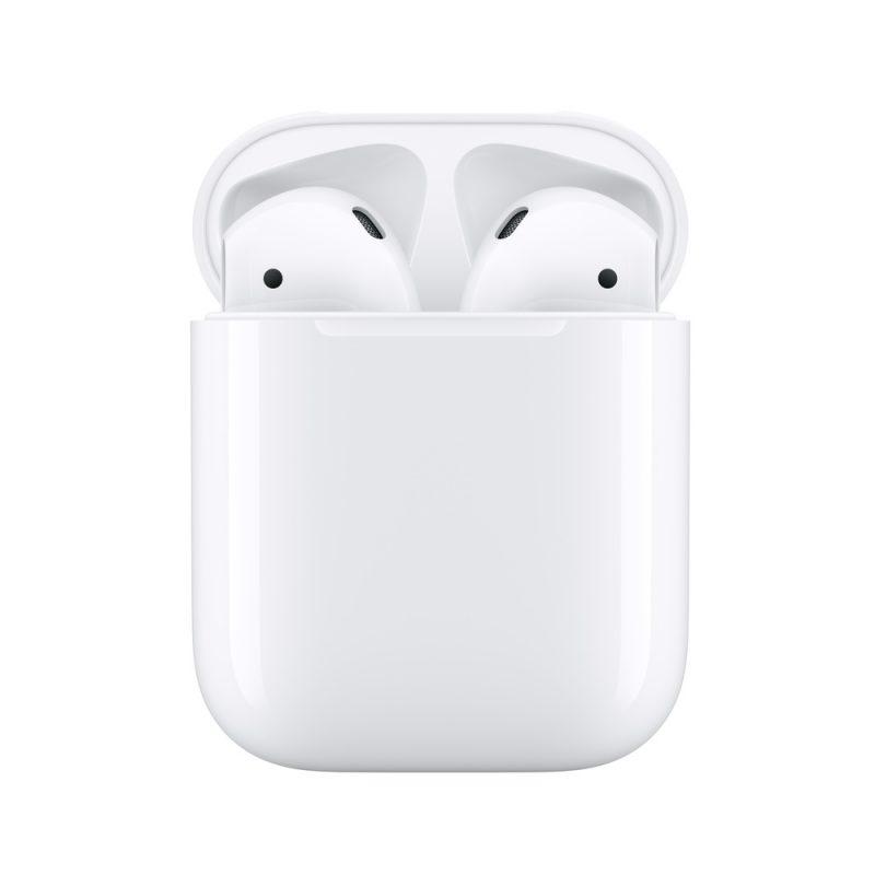 Auriculares Inalambricos Apple AirPods MV7N2BE/A + Estuche de Carga Micrófono y Bluetooth 1