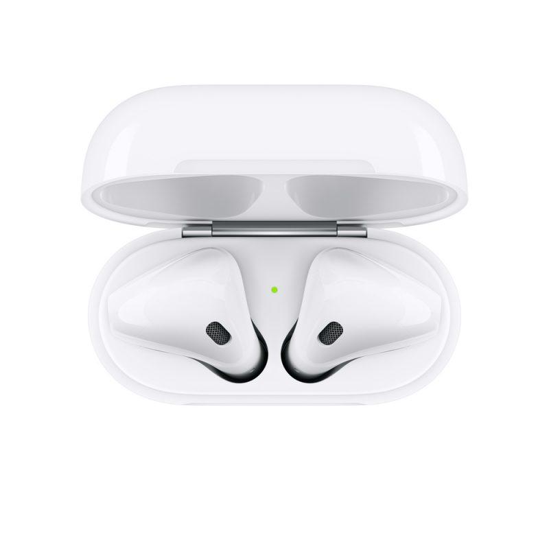 Auriculares Inalambricos Apple AirPods MV7N2BE/A + Estuche de Carga Micrófono y Bluetooth 4