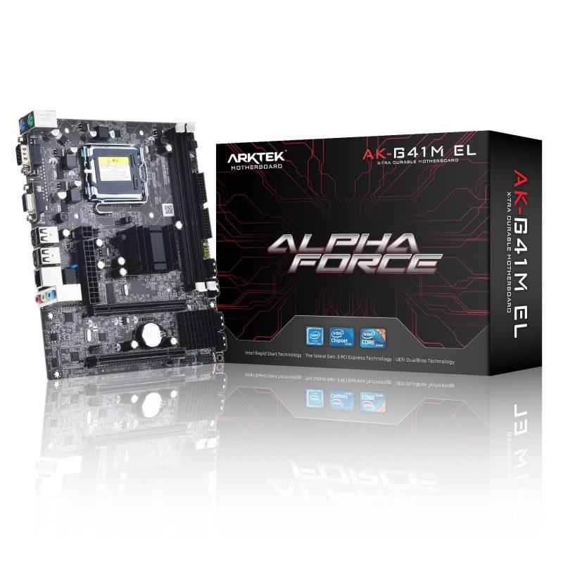 Motherboard ARKTEK AK-G41M EL Intel Chipset G41 Socket LGA 775 Nueva 1